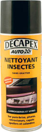 nettoyant insectes